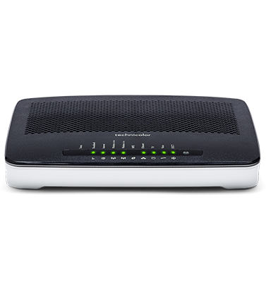 Abonnement box internet, modem inclus